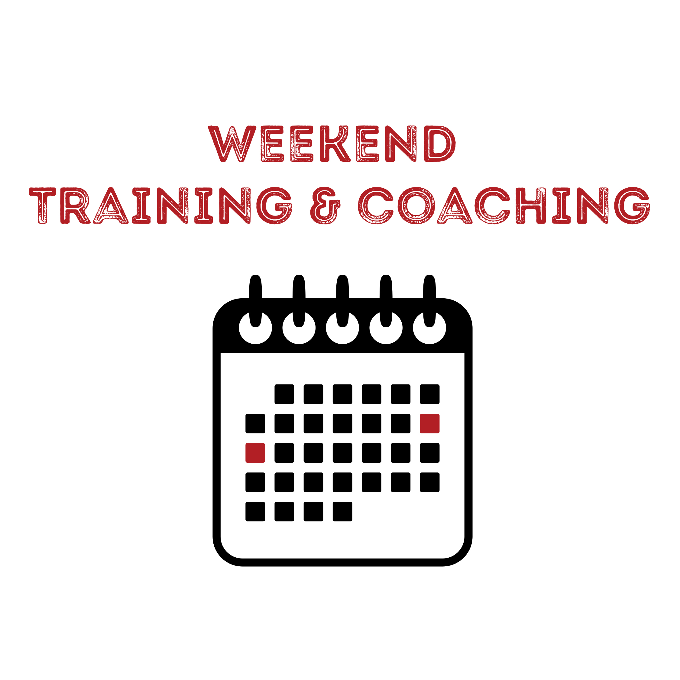 Weekend Training and Coaching